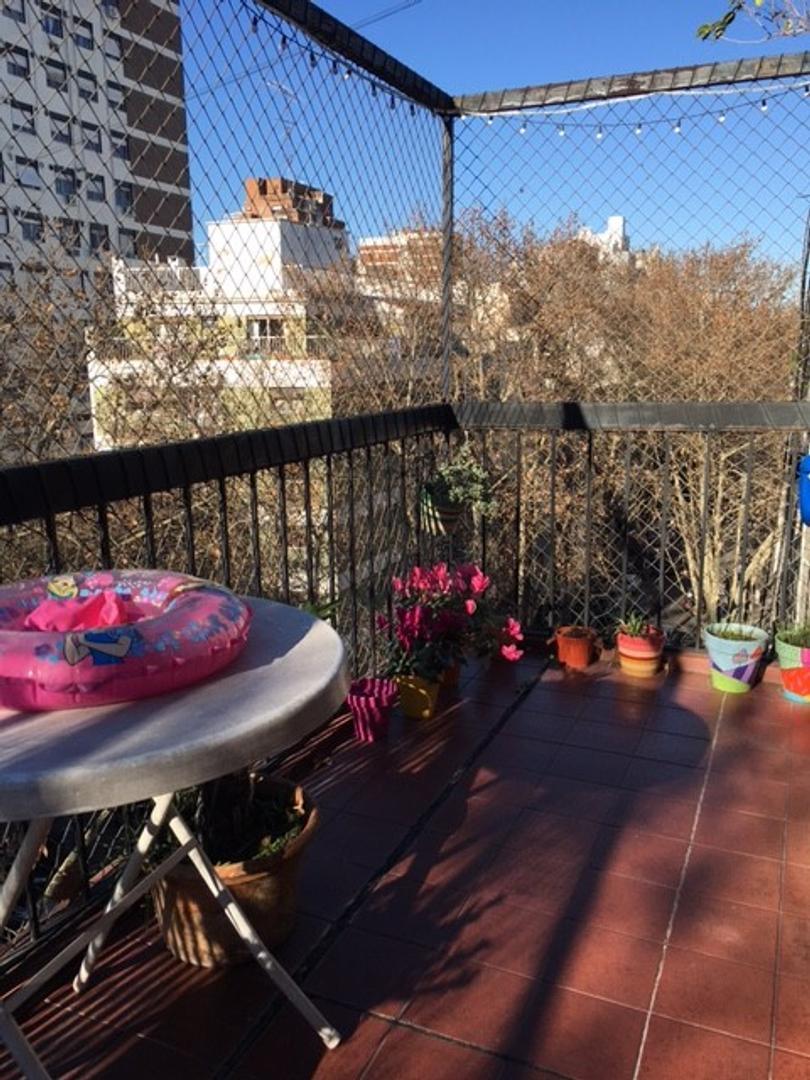 Hermoso depto con Balcon Terraza y cochera