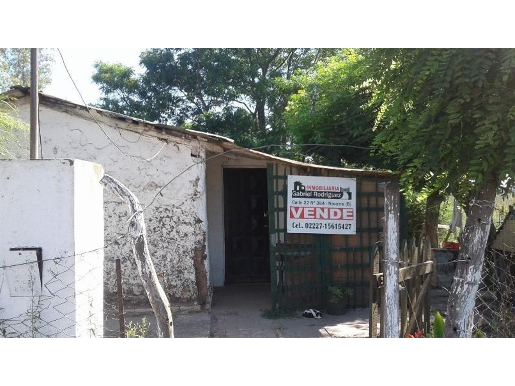 VENDEMOS GRAN TERRENO 2170 M2  CON CASA CAMPO EN EMPALME  LOBOS