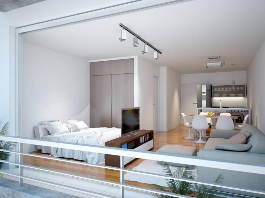 A ESTRENAR 1 ambiente con balcón tipo loft y Amenities