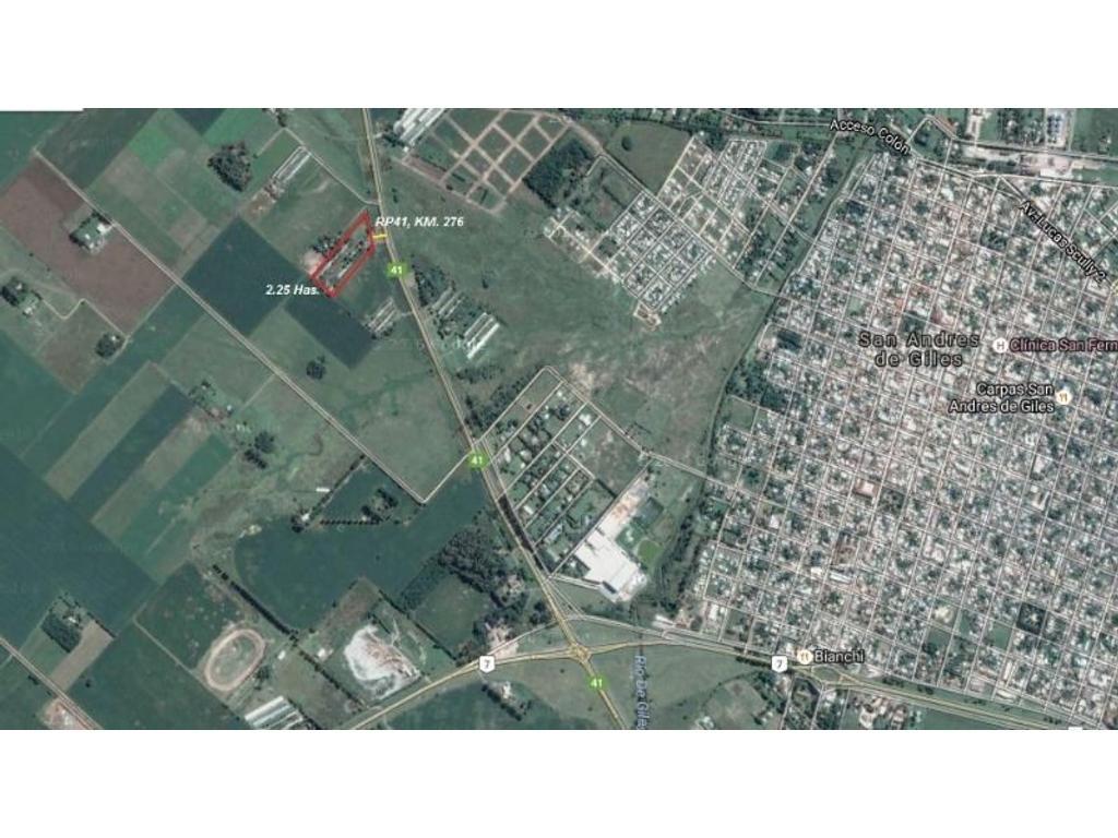 GRANJA AVÍCOLA 2 HAS. 25 AS. IMPORTANTES MEJORAS Sobre Ruta Provincial Nº41 KM. 267 - COD. C101