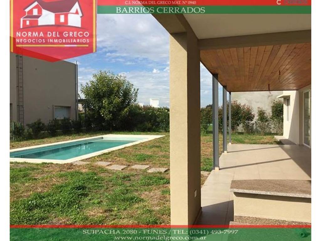 Excelente Casa a Estrenar en Barrio Privado San Sebastian 350 m2 - Lote 900 m2