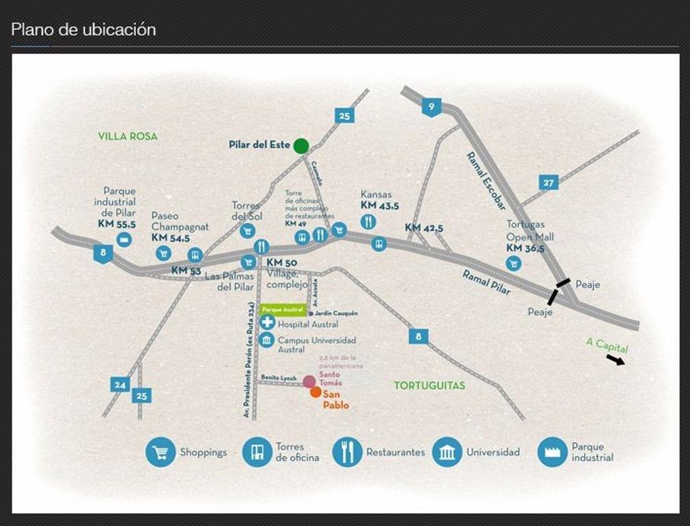 Terreno Lote  en Venta ubicado en San Pablo, Pilar y Alrededores - PIL3610_LP117605_1