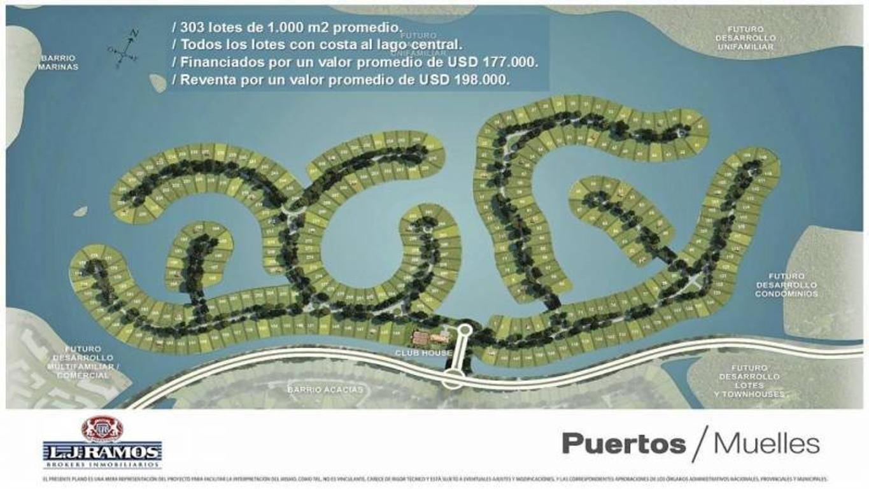 PUERTOS - BARRIO MUELLE - RAMAL ESCOBAR KM 45 - LOTE 34 - 100