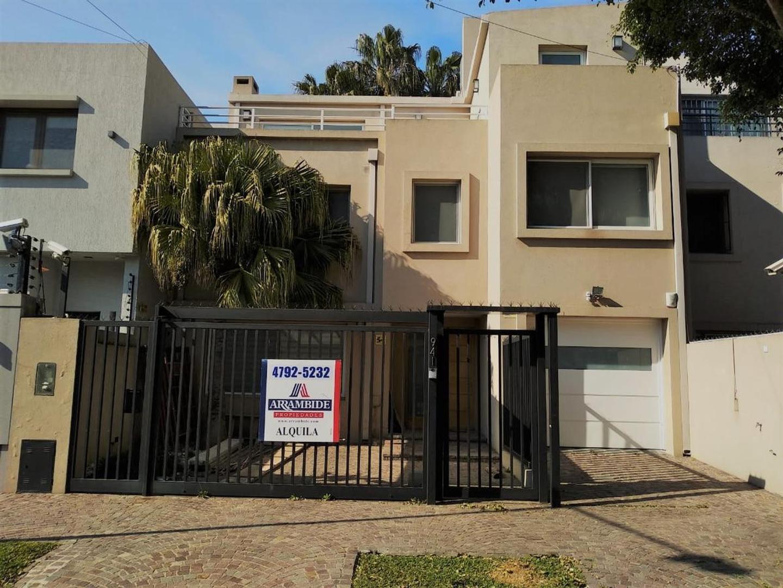 Casa en Alquiler en Martinez Vias / Libertador - 4 ambientes