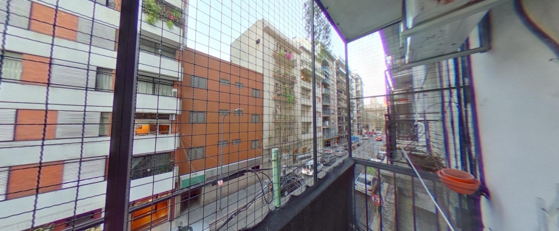 MANSILLA 2400 2º - PISO 114 m2 - BALCON - LUMINOSO