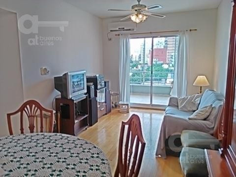 Caballito. Departamento 3 ambientes con balcón. Alquiler temporario sin garantías.