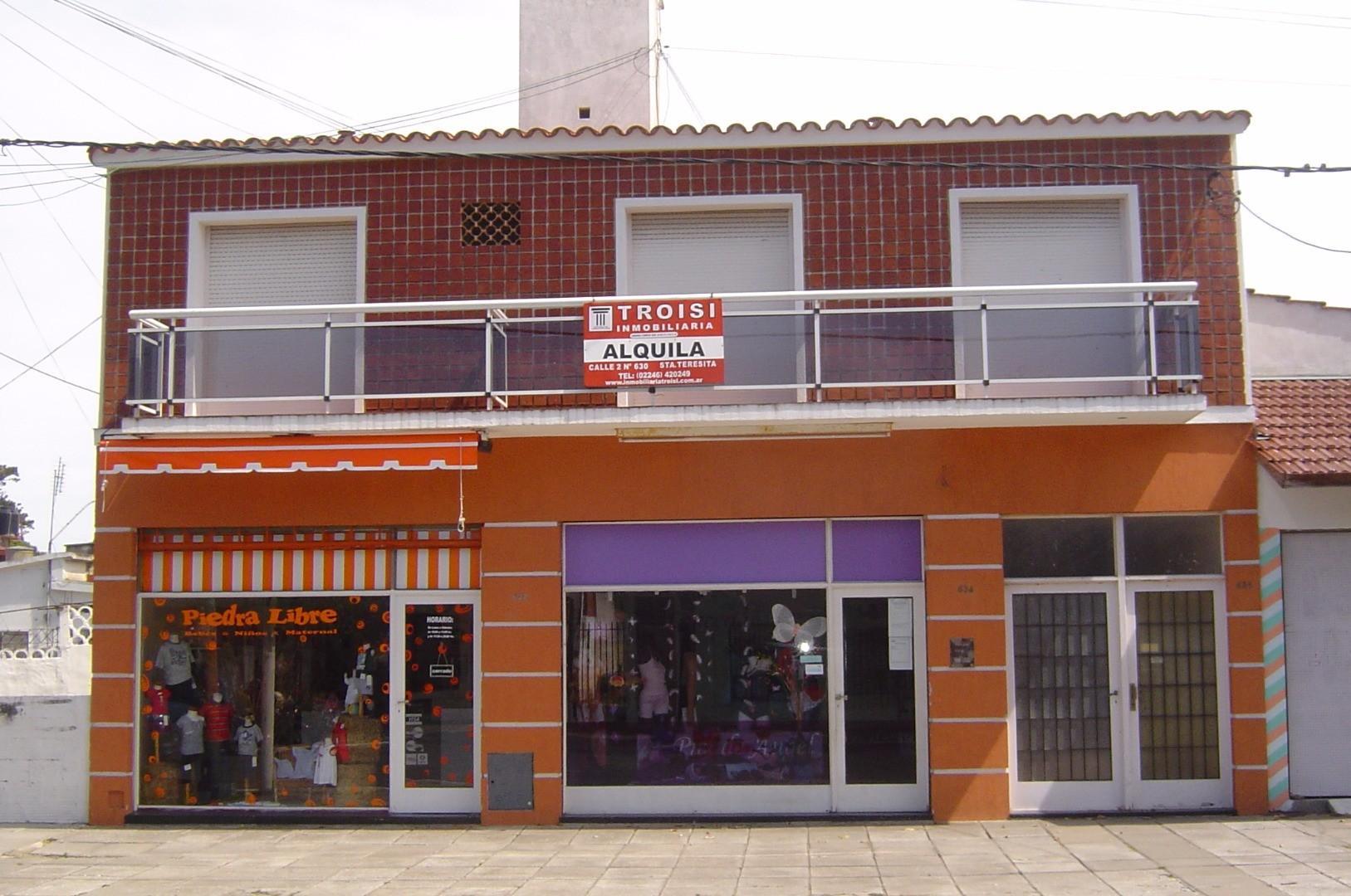 Departamento en Alquiler Por Temporada en Santa Teresita - 2 ambientes