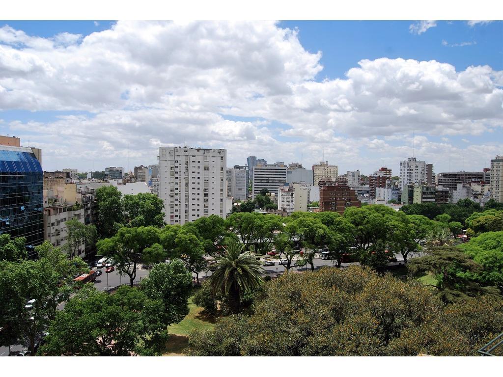 Espectacular vista a Barrancas de Belgrano y al río