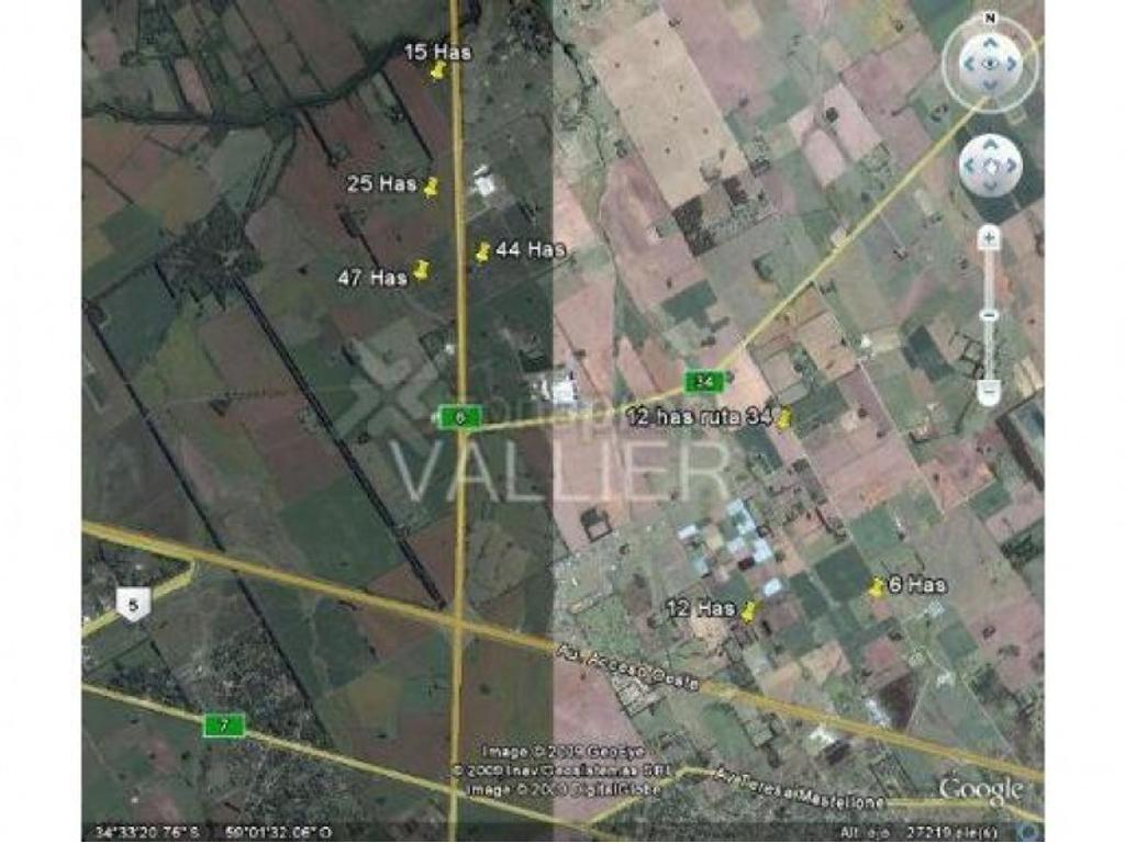 de Fraccion en  zona Lujan Gran Bs.As. Argentina, Buenos Aires  Lujan 12 Has SR 34
