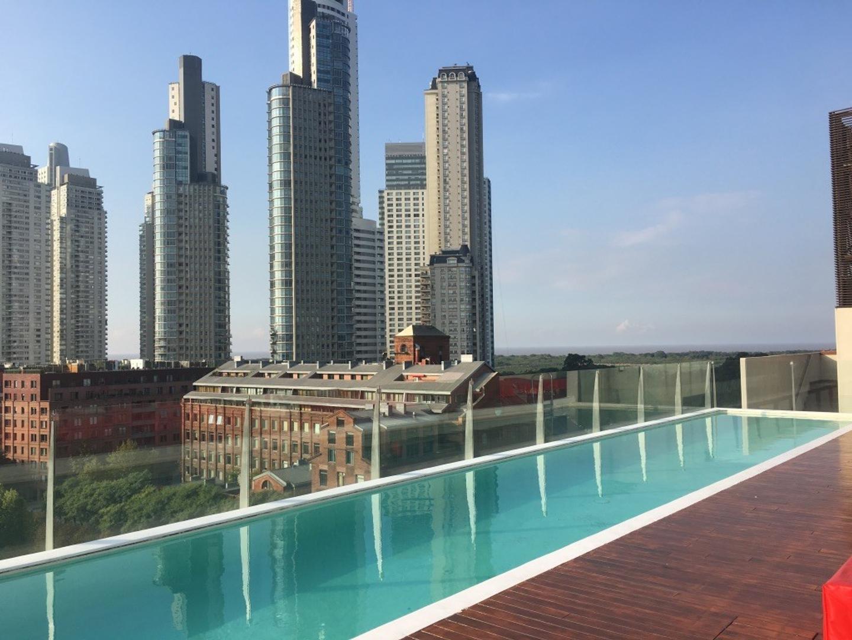 ALEPH !! Espectacular 2 ambientes con muy buen balcón y vista !!!