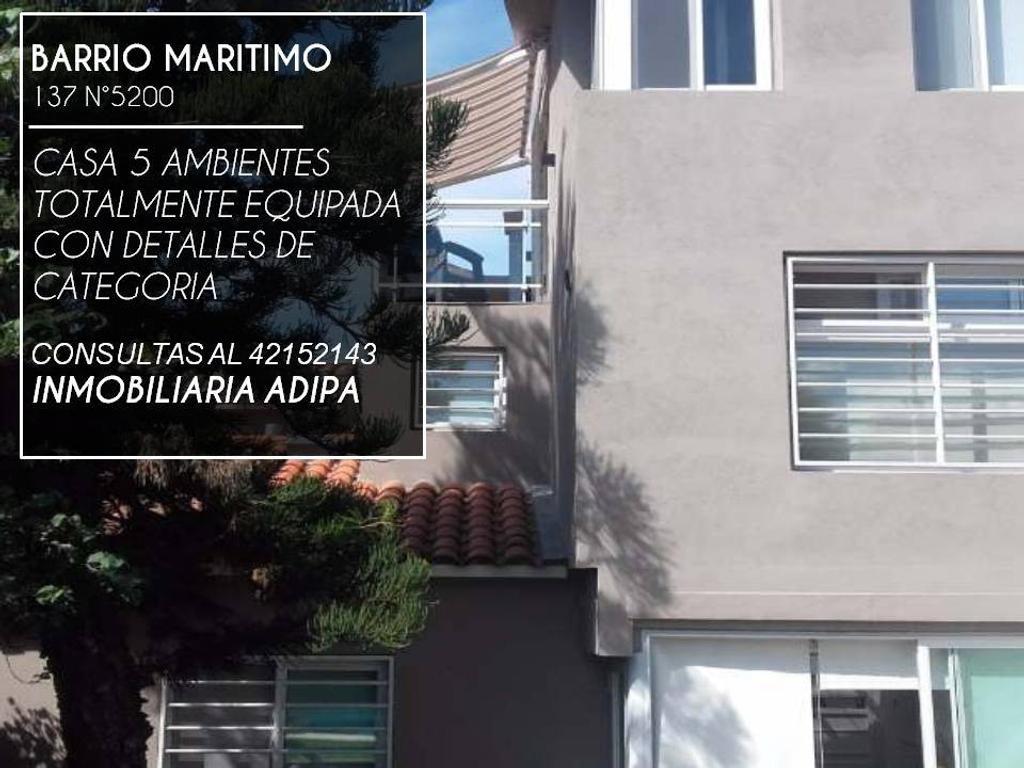 Casa En Venta En Calle 137 A 5200 Guillermo E Hudson Inmuebles  # Venta De Muebles Hudson