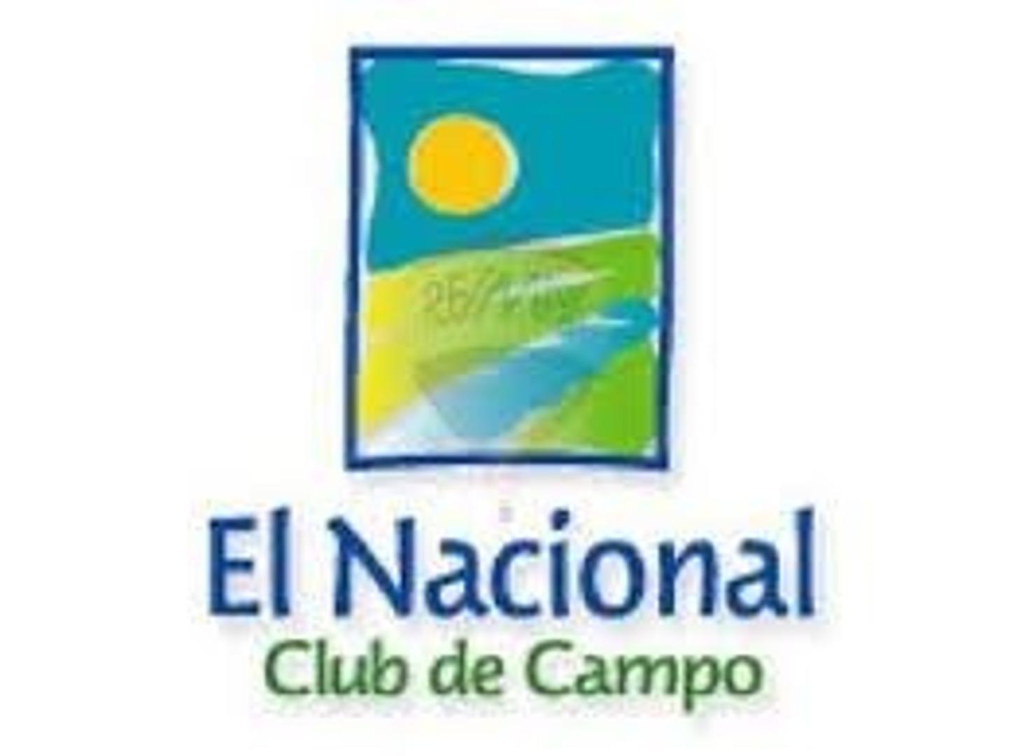 LOTE EN CLUB DE CAMPO EL NACIONAL