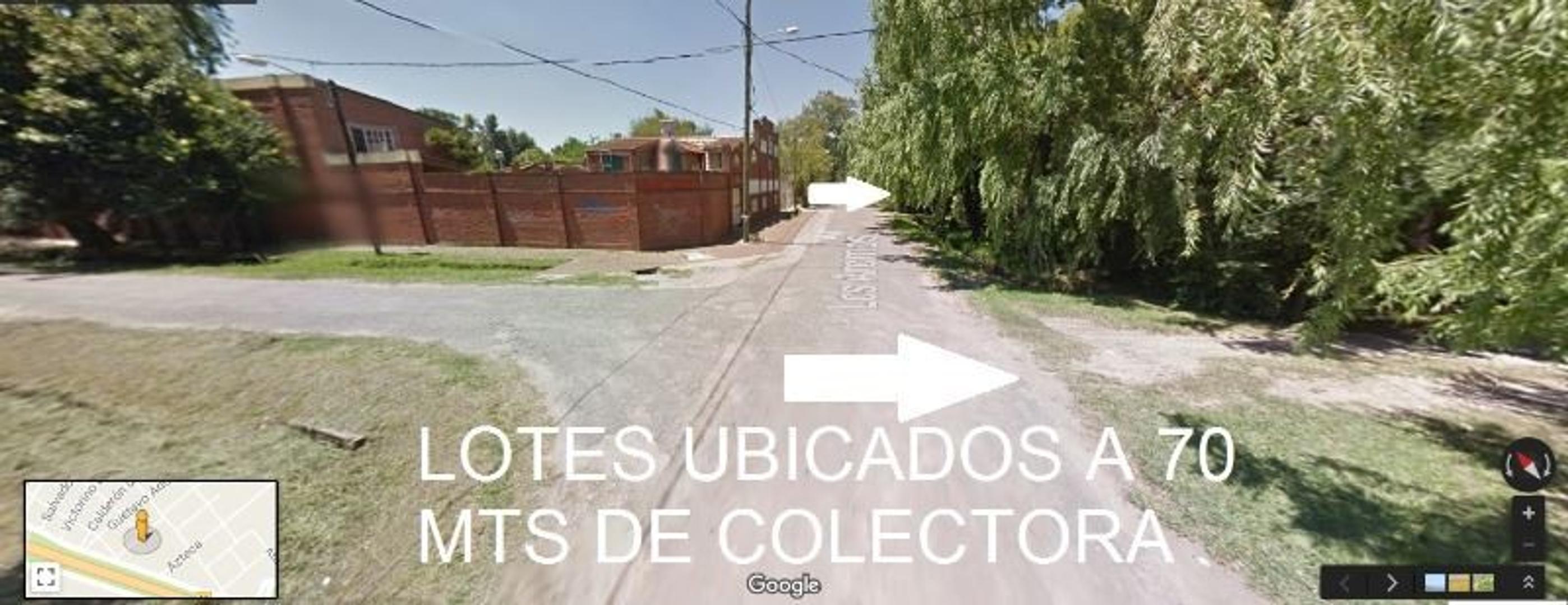 OPORTUNIDAD!! 4 LOTES EN ZONA DE INGRESO AL COUNTRY SAN DIEGO Y BANCO PROVINCIA, A MTS DE COLECTORA