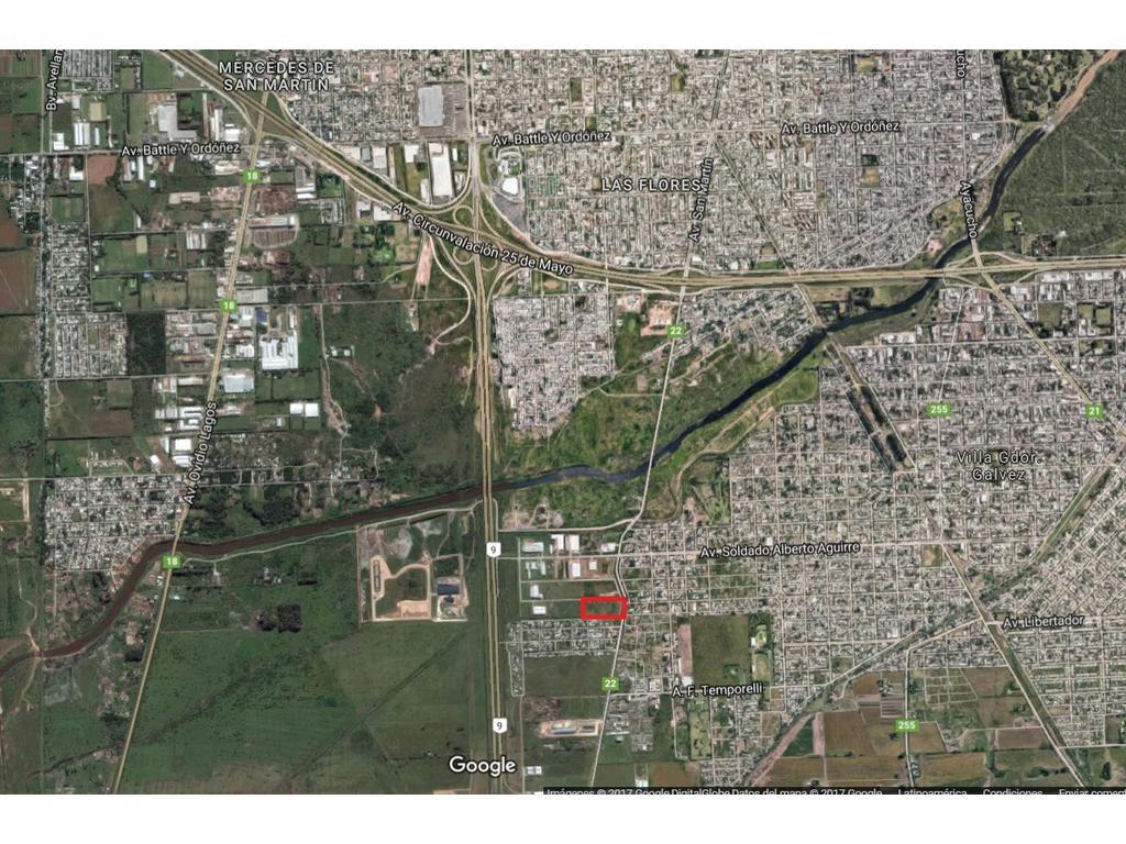 Terreno en Parque Industrial Villa Gobernador Gálvez