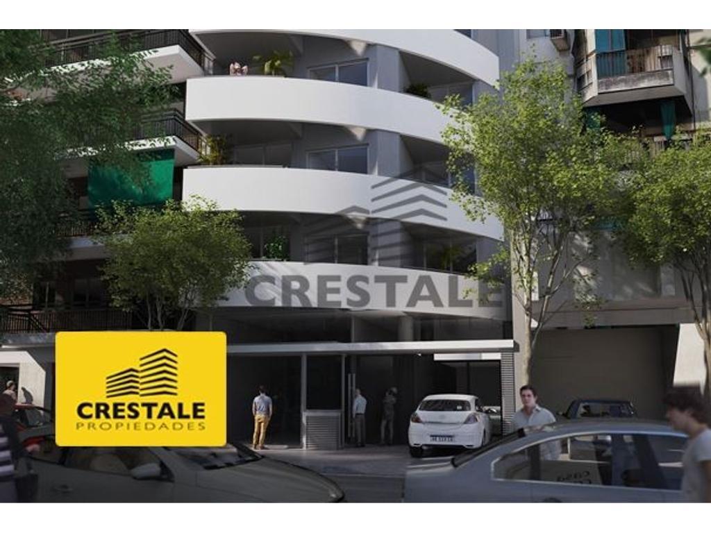 Departamento monoambiente a la venta Rosario. Entre Ríos y Zeballos. Entrega Marzo 2018