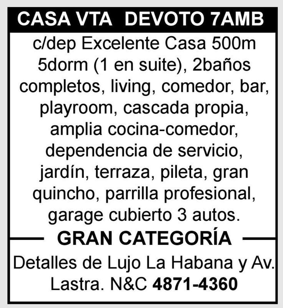 CASA 7 AMB LA MEJOR DE LA ZONA A 4 CUADRAS DE LA PLAZA