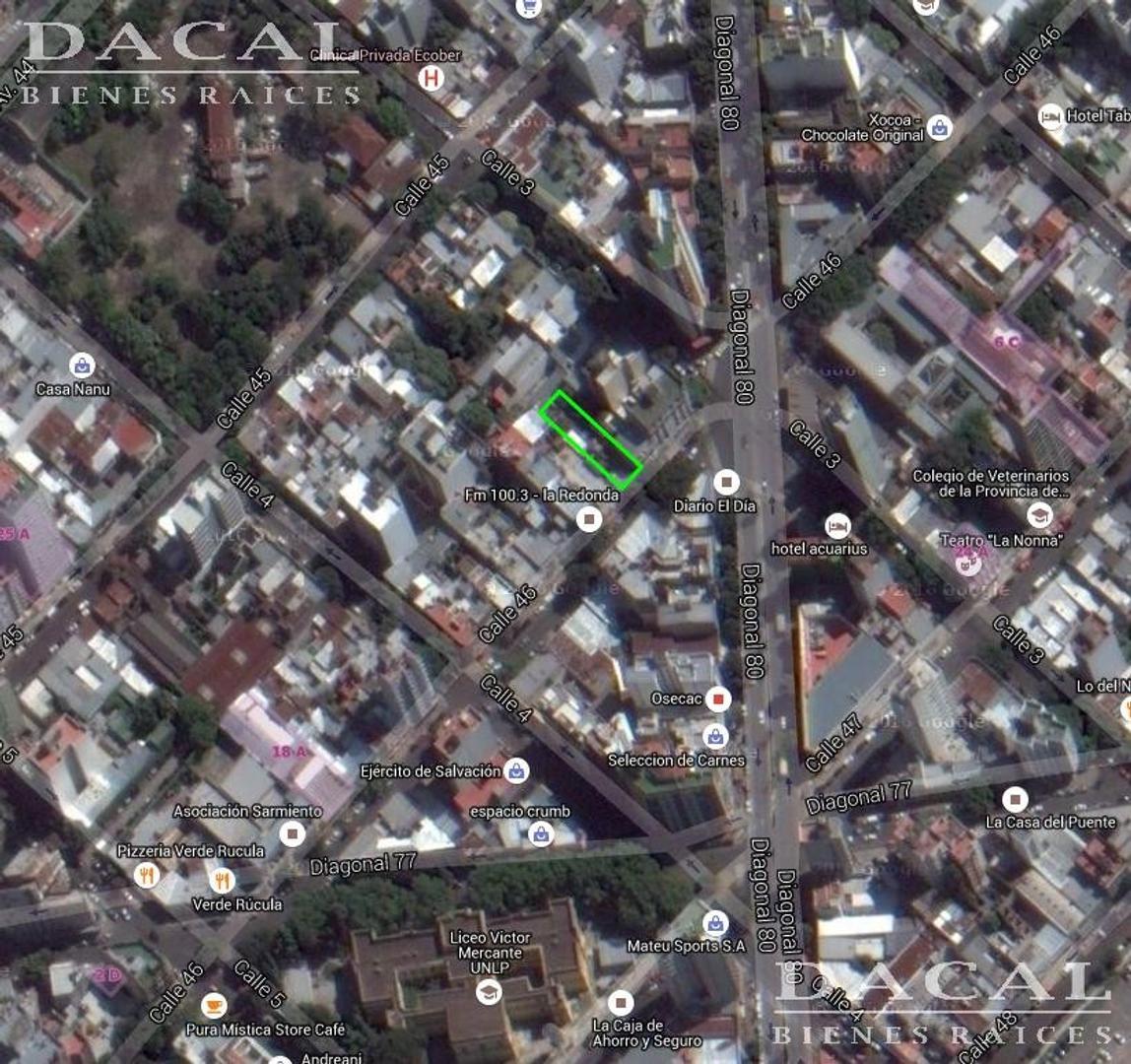 Lote en Venta La Plata Calle 46 e/ 3 y 4 Dacal Bienes Raices