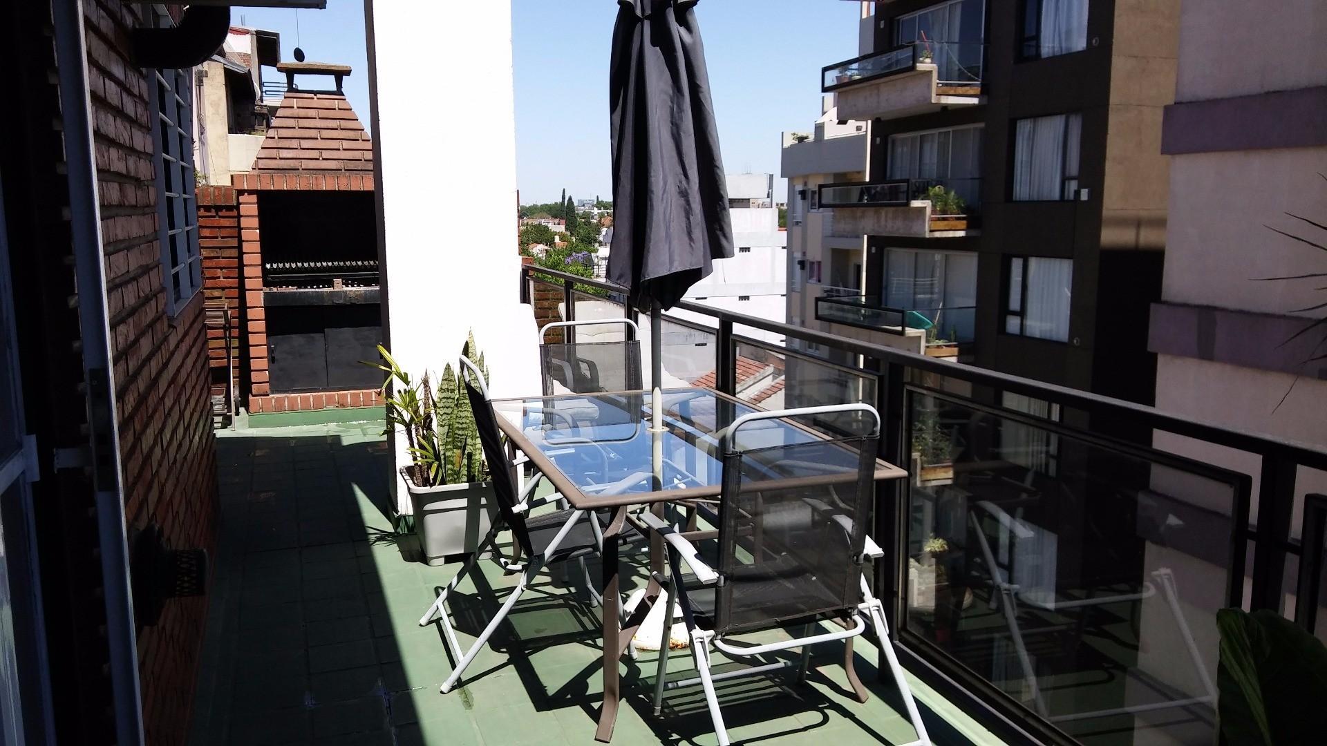 Florida - Mármol 1549 P.6 -  Semipiso 2 amb. contrafrente con balcón terraza y parrilla