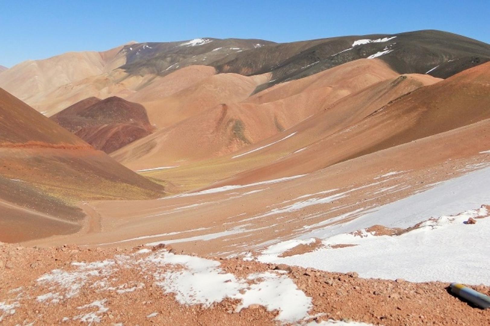 220.000 hectareas La Rioja Limite Chile