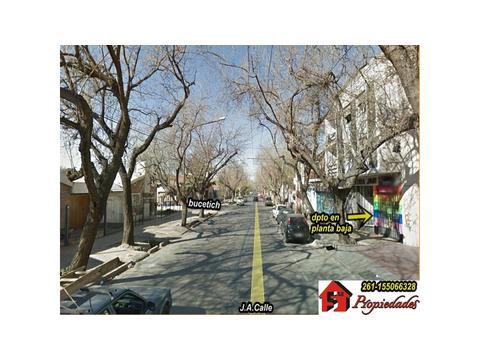6ºSeccion calle J.A.Calle y Olascoaga –Dpto. Planta baja 1dor, patio, cerca parque Central