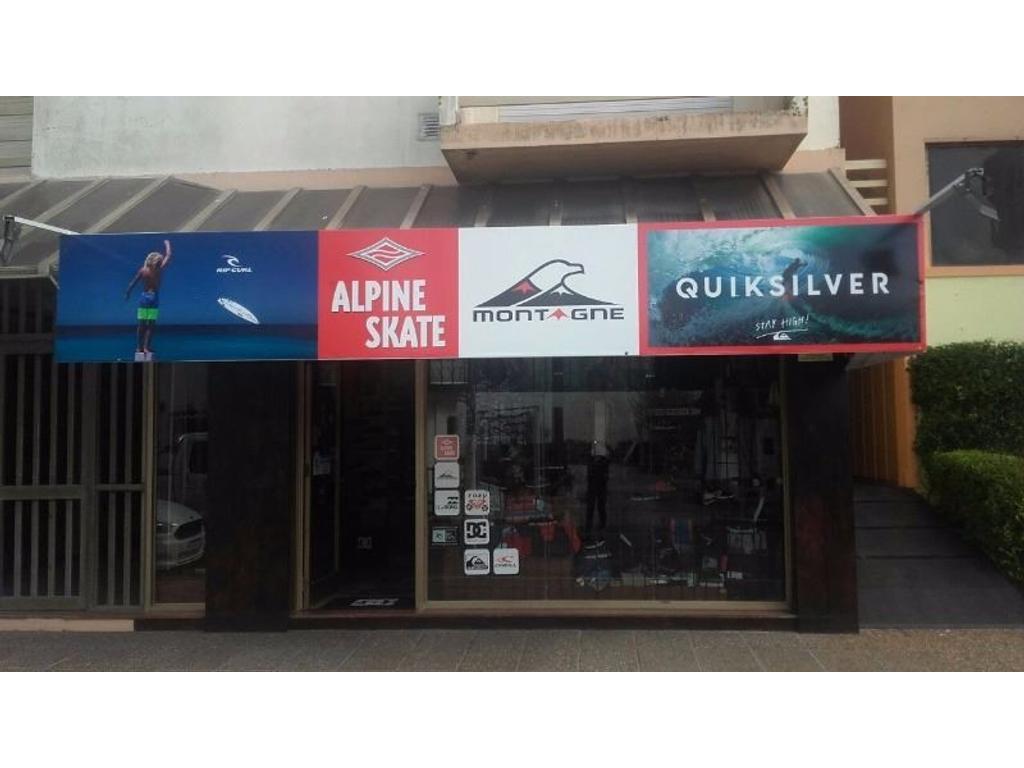 Fondo de Comercio de Indumentaria para Surf y deportes varios. Santa Teresita. Pdo de La Costa