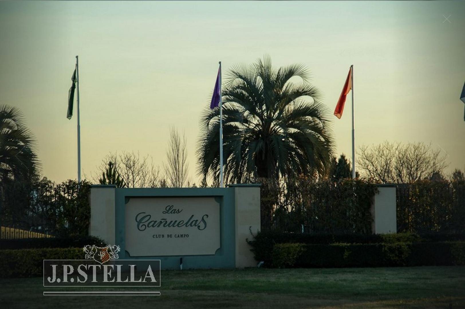 Lote de Terreno 1235 m² - Club de Campo Las Cañuelas - Ruta 3 Km 56,300 - Cañuelas