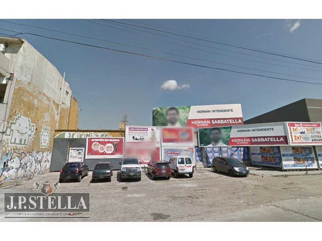 Fracción Comercial 3865 m2 con frente a 2 Calles (Bartolome Mitre 1700 – Bernardo de Irigoyen 453)