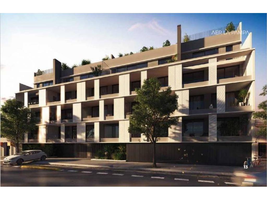 Departamento en venta de 3 ambientes con terraza patio y parrilla en Belgrano