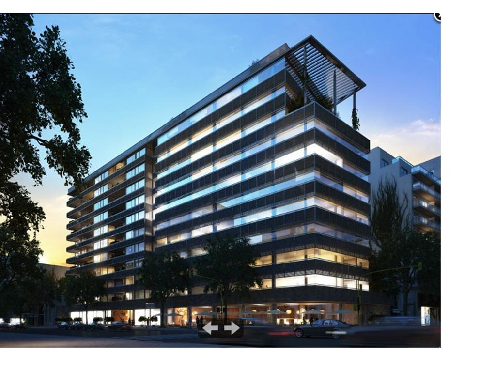 2 ambientes c/Cochera. Dormitorio en suite. 68 m2 totales en complejo Musa Stars