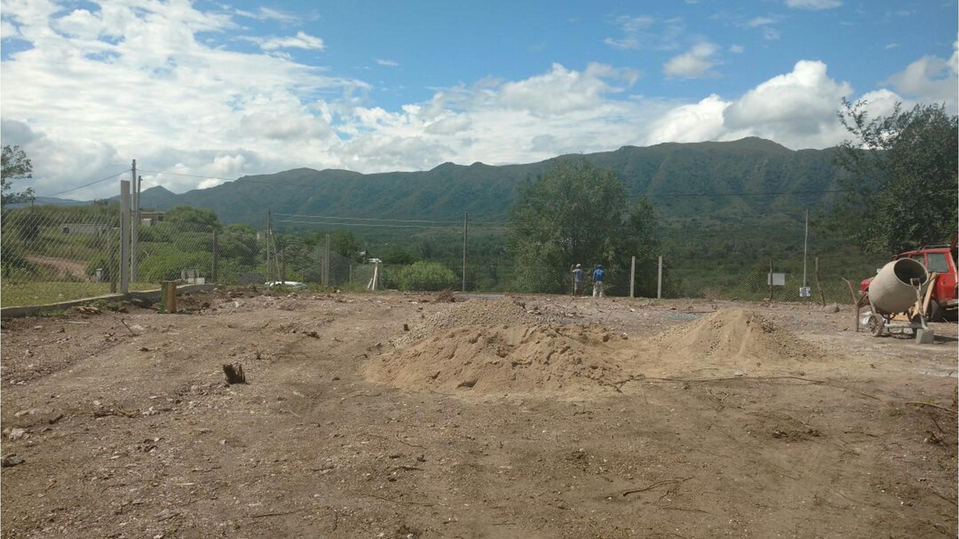 Nºref:764 -TERRENO EN BIALET MASSE A 100 MTS DE LA RUTA CON EXCELENTE VISTA A LAS SIERRAS