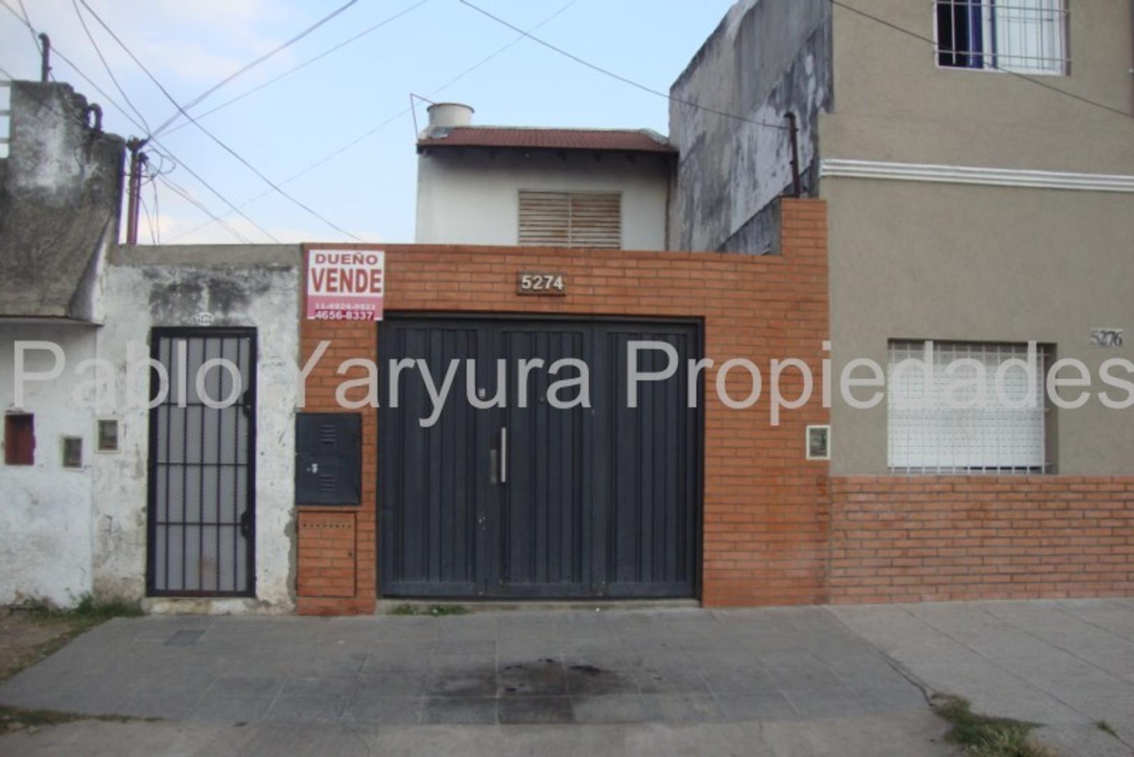 XINTEL(YAR-YA1-11110) Departamento Tipo Casa - Venta - Argentina, Tres de Febrero - LINARES, G. 5274