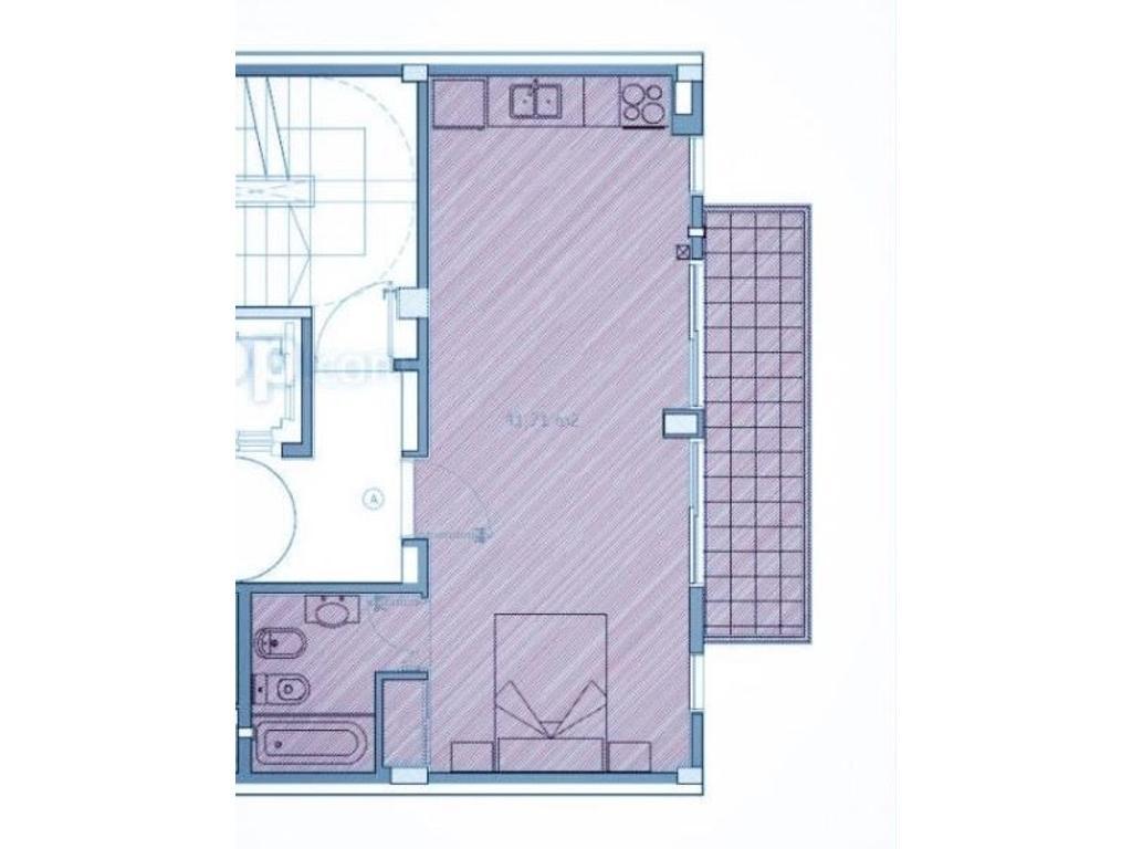 VENTA CON RENTA hasta 2018 - 41m2 - Edificio a estrenar