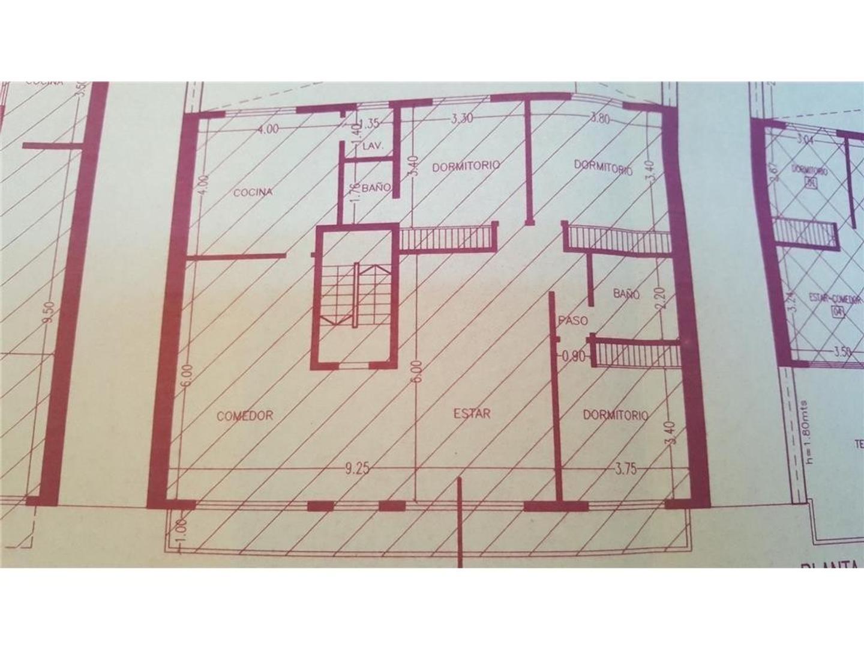 departamento  1 piso +unidad complementaria 2 amb  con baño  cocina + 61m2 de patio terraza y balcon