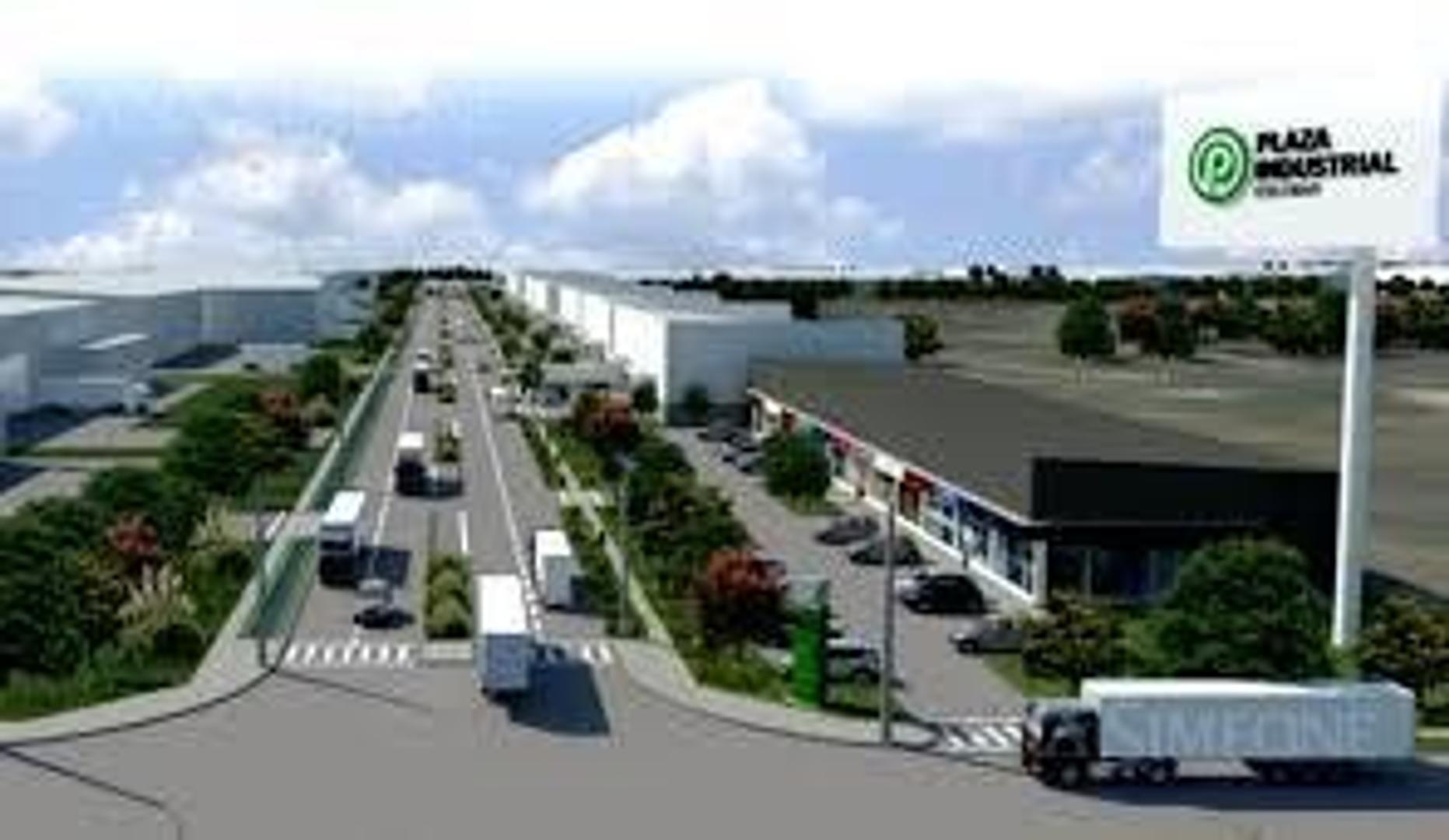 Lote dentro de Parque Industrial con frente y acceso directo a la Au. Panamericana