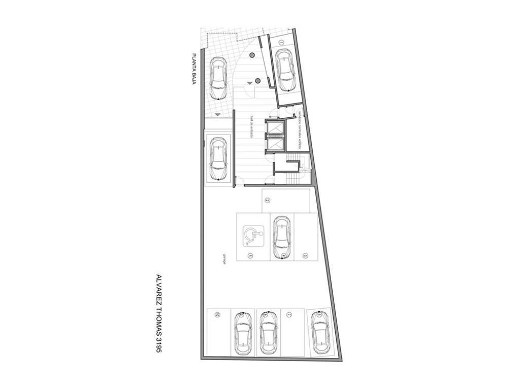 Cocheras fijas y cubiertas en Villa Urquisza