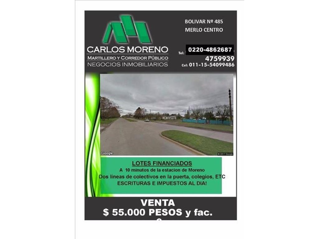 LOTES FINANCIADOS CON ESCRITURAS