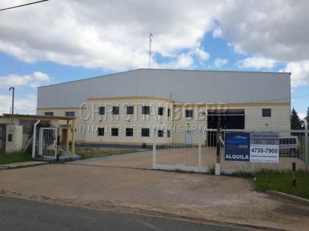 2.400 m² cub dentor del Parque Industrial de Campana - Ideal Planta Industrial / Depósito.