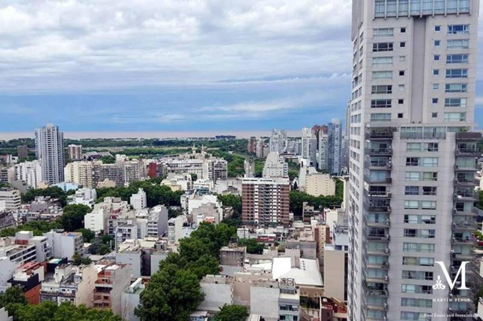 PALERMO - TORRE MIRABILIA - 3 AMB PISO ALTO VISTA RIO