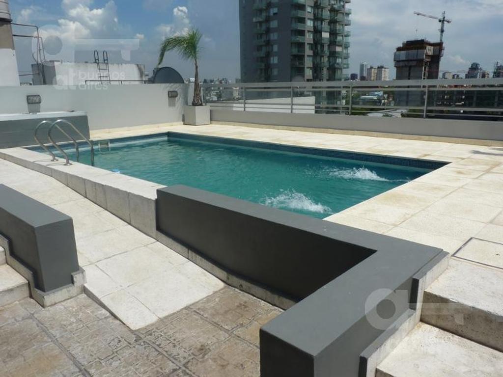 Nuñez. Moderno Loft con amenities. Alquiler temporario sin garantías.