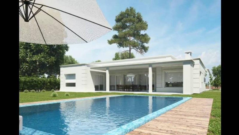 Susana Aravena Propiedades FV Vende casa minimalista a estrenar en Haras Santa Maria Escobar
