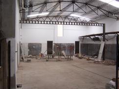 galpon industrial con oficinas