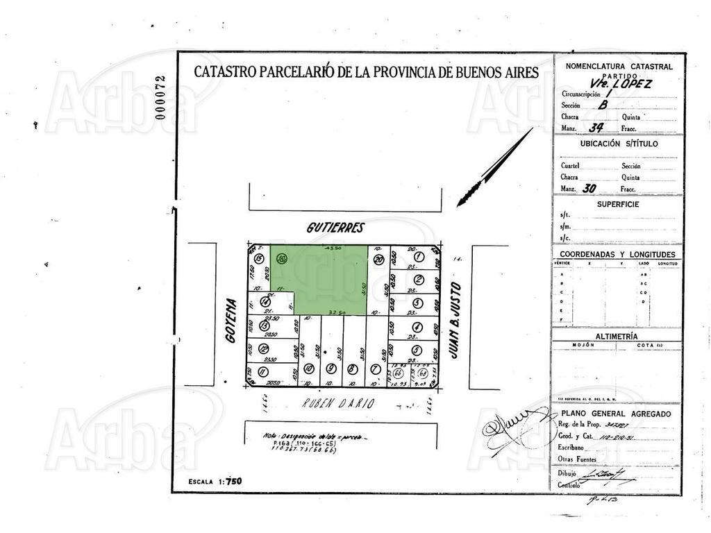 Oportunidad Terreno Olivos GOlf  para9 duplexs 4amb - Toma 50% mts en obra