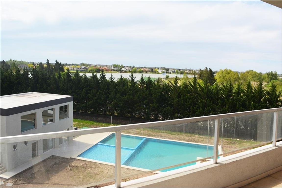 Dpto 3 amb./cochera/balcón terraza/vista al lago