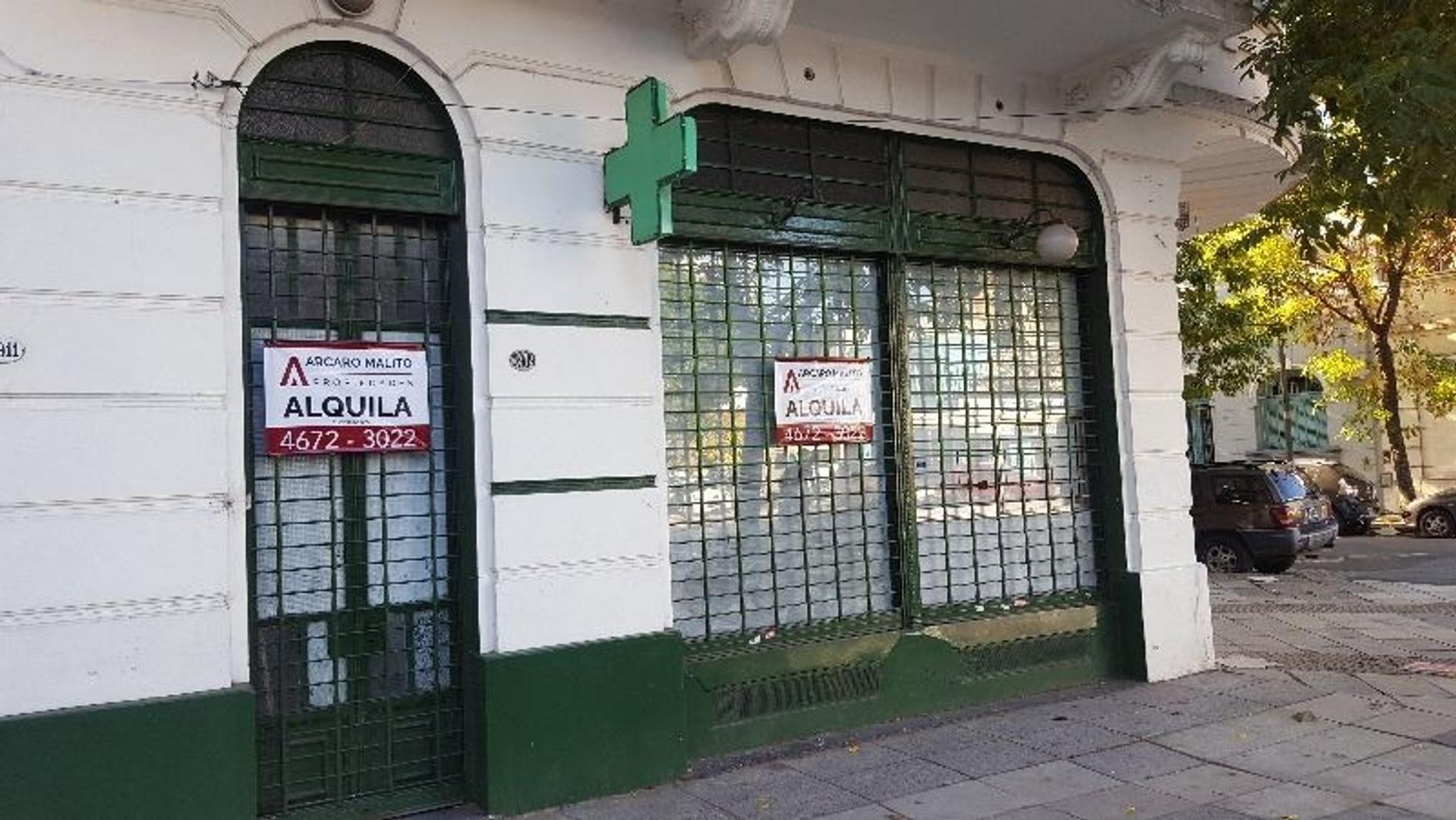 LOCAL APTO TODO RUBRO 80 m2 - SÓTANO