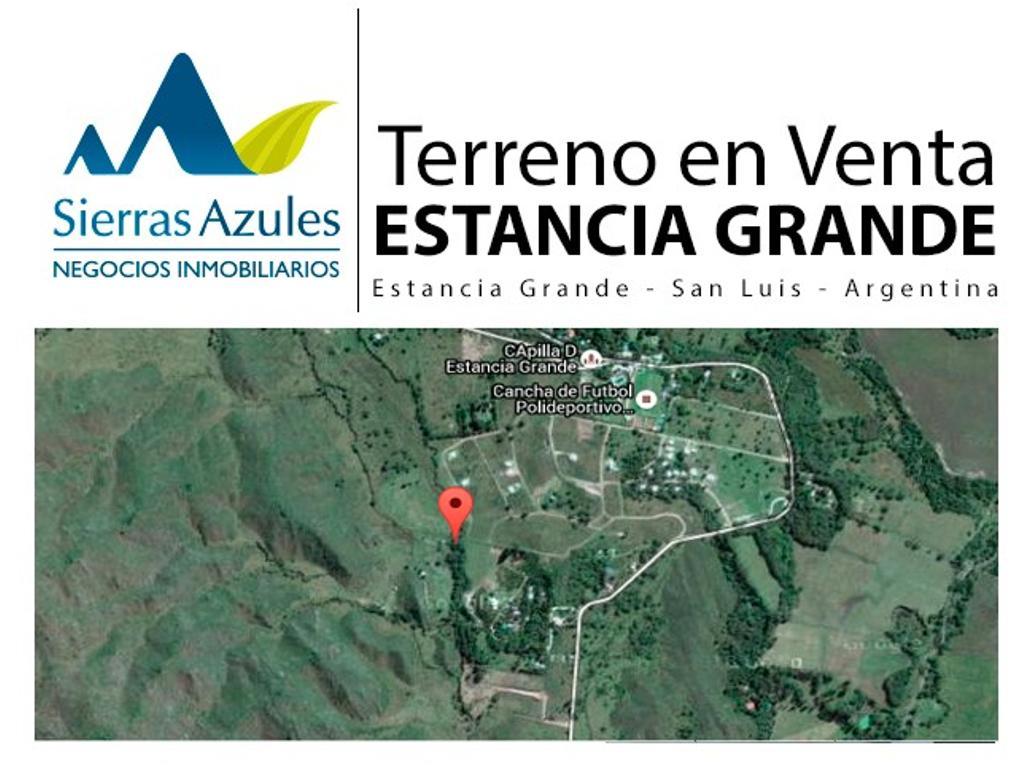 Terreno en venta en Estancia Grande. San Luis- Argentina