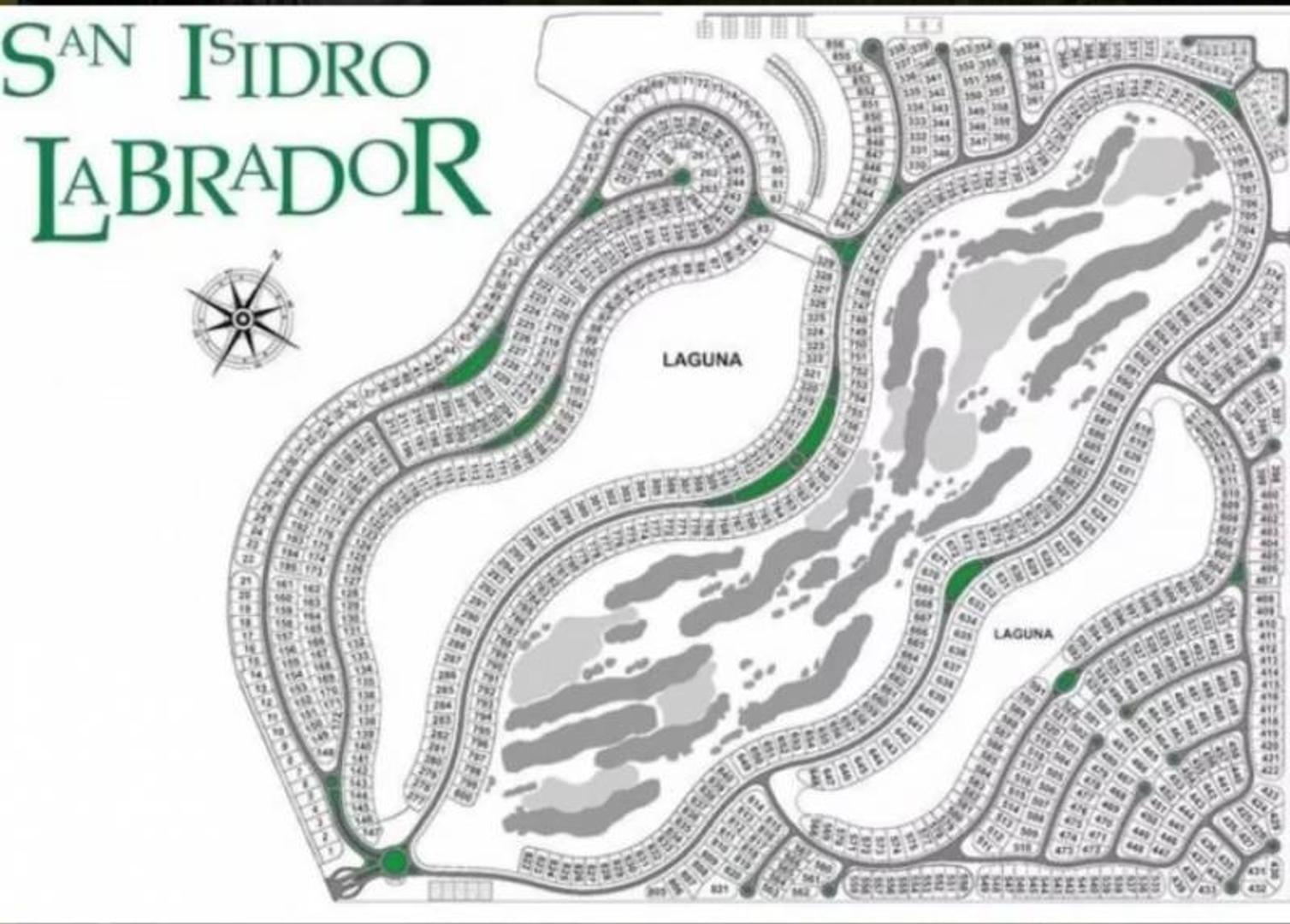 LOTE DE 755MTS  -AL GOLF-SAN ISIDRO LABRADOR