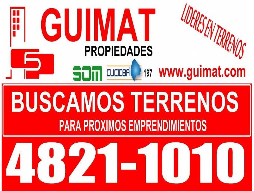 BUSCAMOS TERRENOS PARA PROXIMOS EMPRENDIMIENTOS!!!!!!