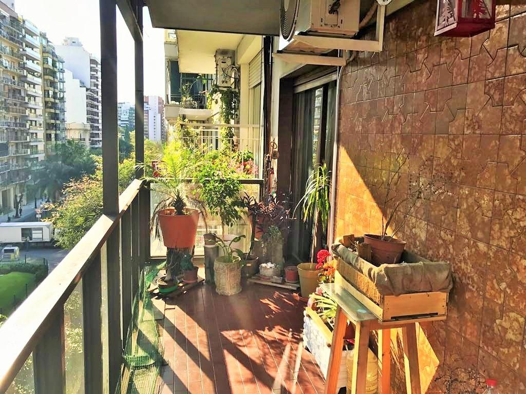 Dpto 3 amb c/dep balcón frente Charcas y Cnel Díaz Excelente Zona