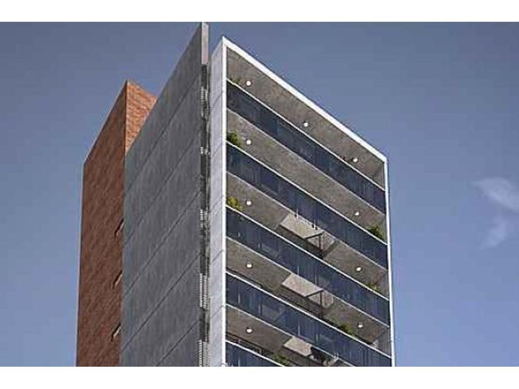 Departamento monoambiente a la venta en Rosario. Ovidio Lagos 600. Entrega Agosto 2019.