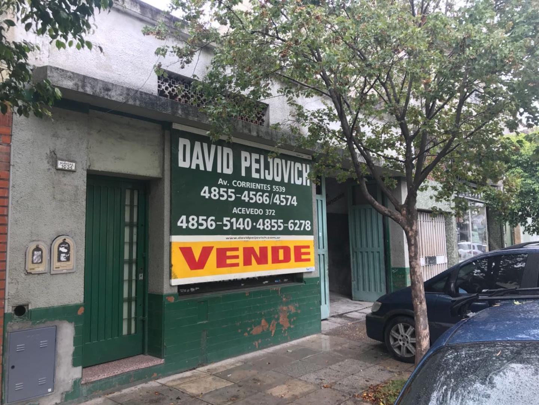 EXCELENTE LOTE PROPIO EN VENTA - VILLA CRESPO